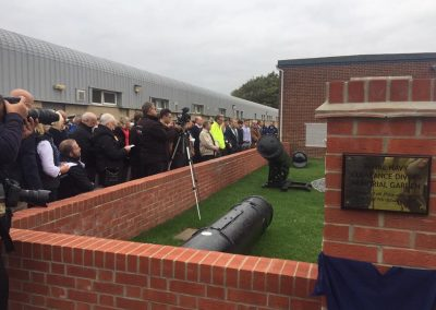 DEDICATION OF THE MEMORIAL FOR DIVERS KILLED IN THE LINE OF DUTY