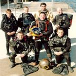 1990s RN Diving Equipment including old CDBA